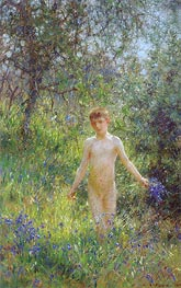 Tuke | Bluebells, 1907 | Giclée Canvas Print