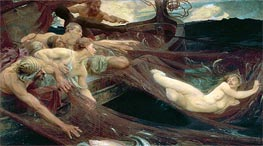 Herbert James Draper | The Sea Maiden, 1894 | Giclée Canvas Print