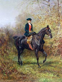 Heywood Hardy | The Morning Ride, 1891 | Giclée Canvas Print