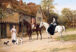 Heywood Hardy | The Gamekeeper's Daughter, undated | Giclée Canvas Print
