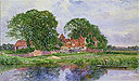 Hardy - The Old Manor House - Art Print / Posters