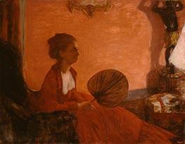 Degas | Madame Camus with a Fan | Giclée Canvas Print