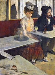 Degas | The Absinthe Drinker (In a Cafe) | Giclée Canvas Print