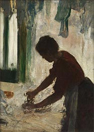 Degas | A Woman Ironing (Silhouette) | Giclée Canvas Print