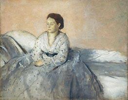 Degas | Madame Rene de Gas | Giclée Canvas Print