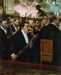 Degas | The Opera Orchestra | Giclée Canvas Print