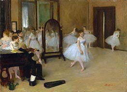 Degas | The Dancing Class | Giclée Canvas Print