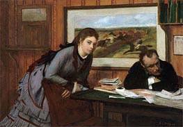 Degas | Sulking | Giclée Canvas Print