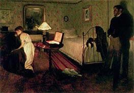 Degas | Interior Scene (The Rape) | Giclée Canvas Print