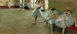 Degas | Dancers in the Classroom | Giclée Canvas Print