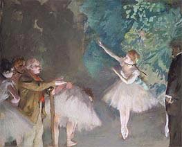 Degas | Ballet Rehearsal, 1875 | Giclée Canvas Print