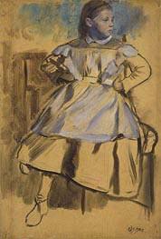 Degas | Giulia Bellelli, c.1858/59 | Giclée Canvas Print