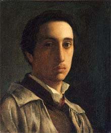 Degas | Self-Portrait | Giclée Paper Print