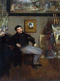 Degas | James-Jacques-Joseph Tissot | Giclée Canvas Print