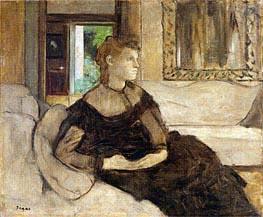 Degas | Madame Theodore Gobillard (Yves Morisot) | Giclée Canvas Print