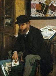Degas | The Collector of Prints | Giclée Canvas Print