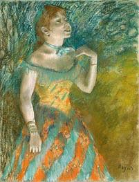 Degas | The Singer in Green | Giclée Canvas Print