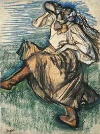 Degas | Russian Dancer, 1899 | Giclée Paper Print