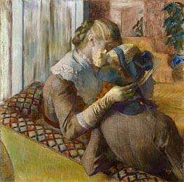 Degas | At the Milliner's, 1881 | Giclée Paper Print
