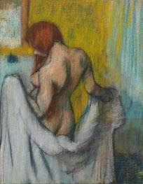 Degas | Woman with a Towel, c.1894/98 | Giclée Paper Print