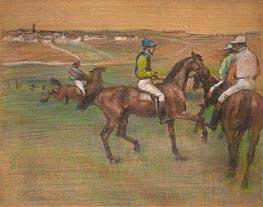 Degas | Race Horses, c.1885/88 | Giclée Paper Print