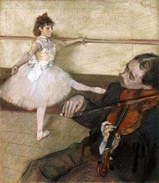 Degas | The Dance Lesson, c.1879 | Giclée Paper Print