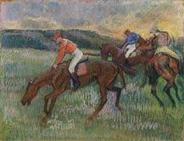 Degas | Three Jockeys, c.1900 | Giclée Paper Print
