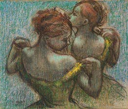 Degas | Two Dancers, Half-Length, undated | Giclée Paper Print