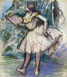 Degas | Dancer with a Fan, c.1890/95 | Giclée Paper Print