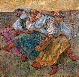Degas | Russian Dancers, 1899 | Giclée Paper Print