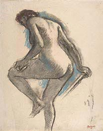 Degas | Bather Sponging Her Knee, c.1883/84 | Giclée Paper Print