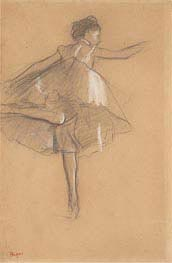 Degas | Dancer on Pointe, c.1878 | Giclée Paper Print