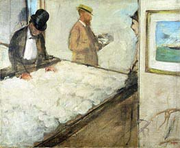 Degas | Cotton Merchants in New Orleans, 1873 | Giclée Canvas Print
