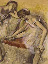 Degas | Dancers in Repose | Giclée Canvas Print