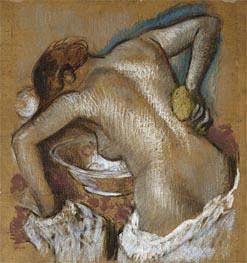 Degas | Woman Washing Her Back with a Sponge, c.1888/92 | Giclée Paper Print