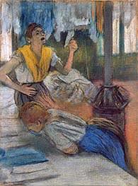 Degas | Reading a Letter, undated | Giclée Paper Print