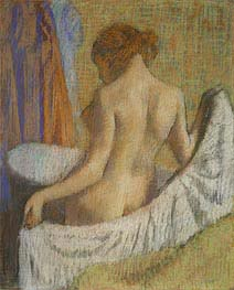 Degas | After the Bath, Woman with a Towel, c.1885/90 | Giclée Paper Print