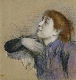 Degas | Bust of a Woman, c.1880/85 | Giclée Paper Print