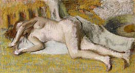 Degas | After the Bath, 1885 | Giclée Paper Print