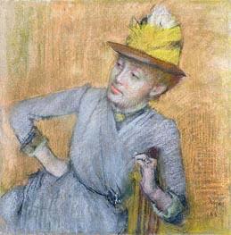 Degas | Seated Woman, 1887 | Giclée Paper Print