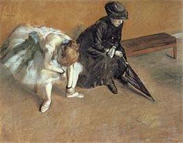 Degas | Waiting | Giclée Paper Print