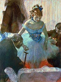 Degas | Dancer in Her Dressing Room  | Giclée Paper Print