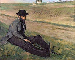 Degas | Eugene Manet, undated | Giclée Canvas Print