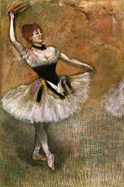 Degas | Dancer with Tambourine | Giclée Paper Print