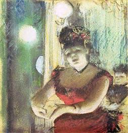 Degas | Cafe-Concert Singer | Giclée Paper Print