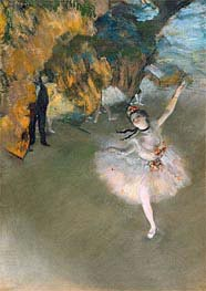 Degas | The Star (Dancer on the Stage), c.1876/77 | Giclée Paper Print