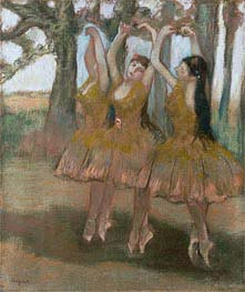 Degas | The Greek Dance, c.1881 | Giclée Paper Print