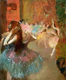 Degas   Ballet Scene, undated   Giclée Canvas Print