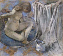 Degas | Woman in the Tub, 1884 | Giclée Paper Print