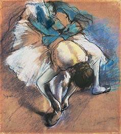 Degas   Dancer Fastening her Pump, c.1880/85   Giclée Paper Print